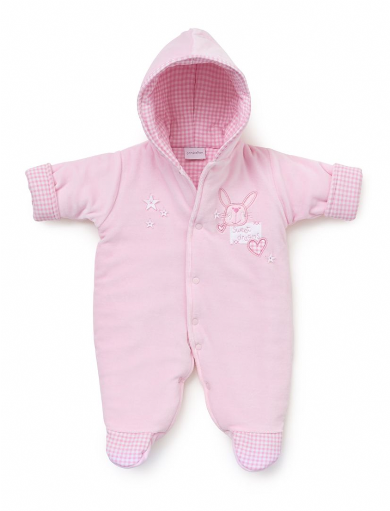 AV2169 Sweet Dreams  Pram Suit pink